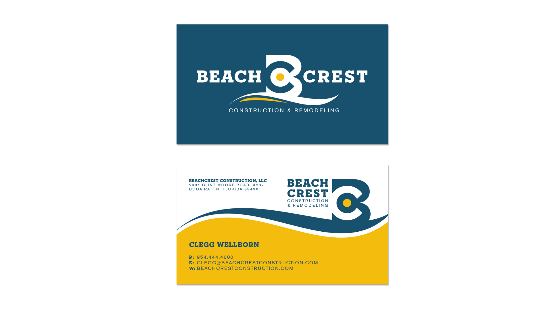 Business card beach crest brian hill design business card beach crest brian reheart Choice Image