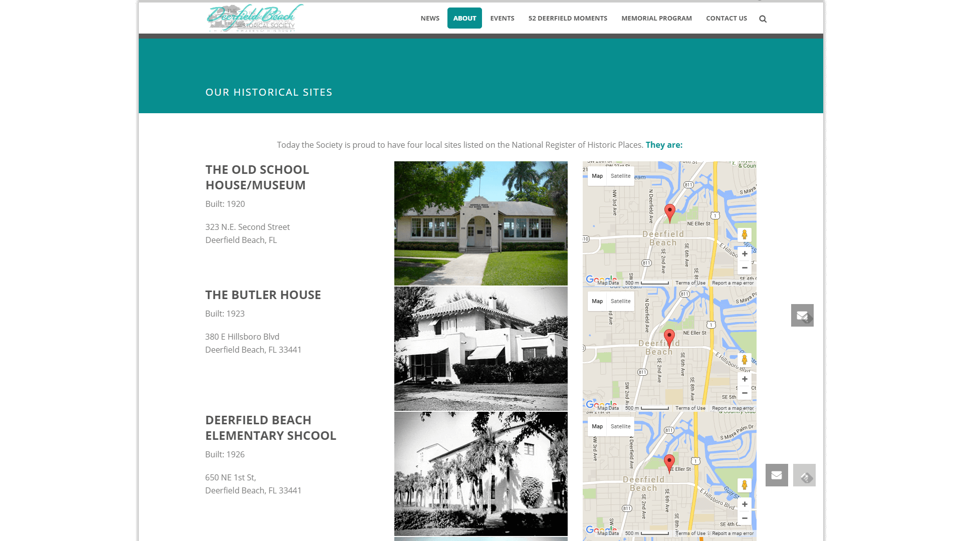 BRIAN HILL DESIGN: The Deerfield Beach Historical Society