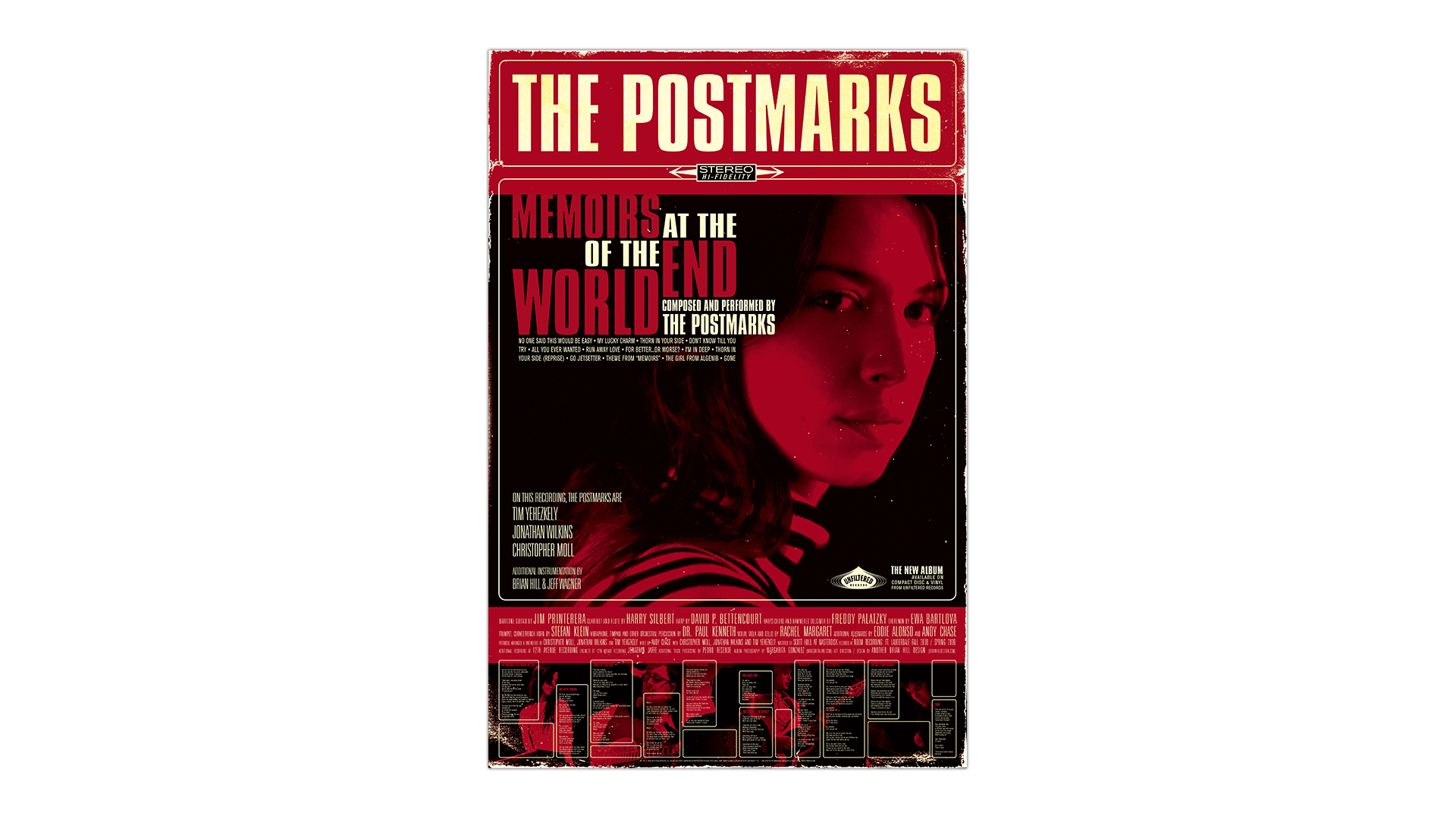 The Postmarks Memoirs At The End Of The World