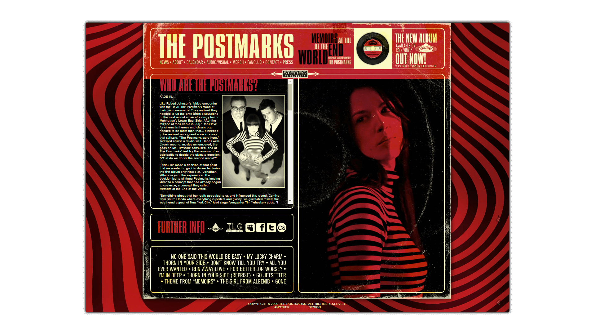 BRIAN HILL DESIGN: The Postmarks